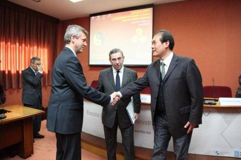 Imaxes Recepción Conselleiro Presidencia. Segunda parte. - Xornadas sobre autonomías en España e China: Galicia como exemplo